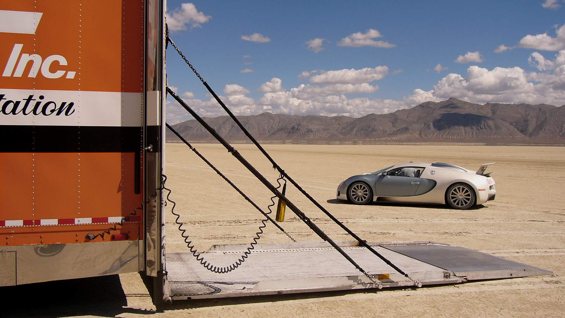 Entwicklung des Bugatti Veyron